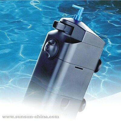 SunSun 9w UV in tank filtration pump for saltwater freshwater 210g/h jup-22 fish