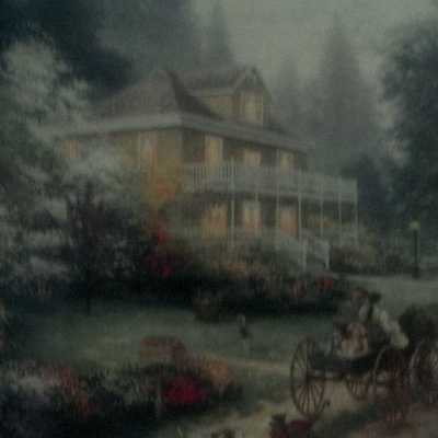 Sunday at Apple Hill Print by Thomas Kinkade in 11 x14  Matte with COA