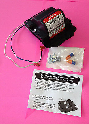 Beckett 51771U Electronic Oil Igniter / Transformer for use with A, AF & AFG