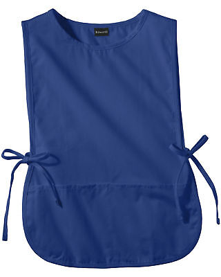 Edwards Garment Adult Side Tie Closure Patch Pocket Cobbler Apron. 9006