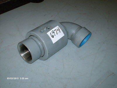 """Rotary Joint #2-93-SS 2"""" FNPT Stainless Steel (NEW)"""