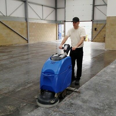 "Numatic Twintec TTB3450 - 240v/110v - 17"" Floor Scrubber Dryer - 1 Week Hire"