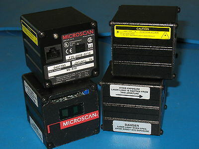 Lot of 4 MICROSCAN MS-510 BAR CODE SCANNER HEAD FIS-0510-0110