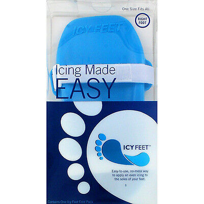 Icy Feet Foot Pain Relief Heel Cold Insole Arch Therapy Plantar Fasciitis Injury
