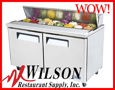 TURBO AIR MST-60 Commercial M3 Series Refrigerated Sandwich / Salad Prep Table