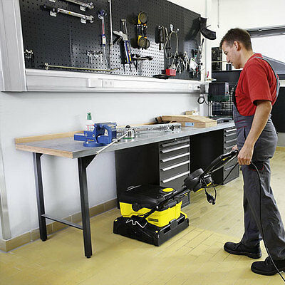 "Karcher BR 40/10 - 15"" Multi-Surface Floor Scrubber Dryer - 1 Week Hire - South"
