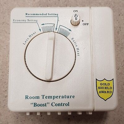 Room stat thermostat boost central heating controller Jaeger French 16 amps NEW