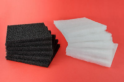 Rena Filstar 'Compatible' - 20 Poly & 6 Carbon Filter Pads - XP1, XP2, XP3, XP4