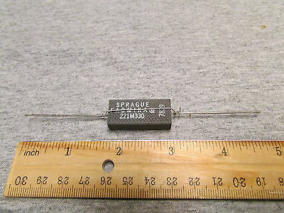 Sprague Fabmika High Voltage Capacitor 4200pf, 4.2nF, 12 kV ,12,000 volts