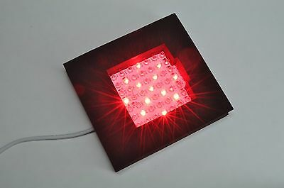 INFRARED THERAPEUTIC HEALING PAD 880nm with 650nm Red LED's