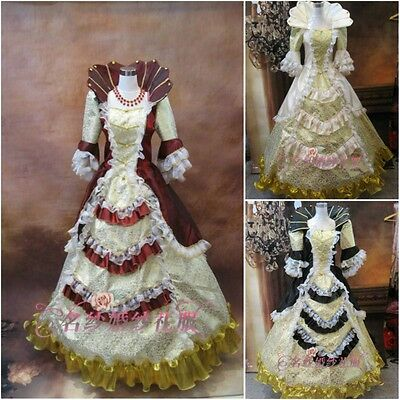 17 18th Century Rococo Baroque Sissi Costume Marie Antoinette Gown dresses