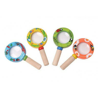NEW Children's Wooden Toy Magnifying Glass - for Garden exploration!