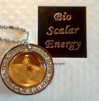 New 5 in 1 Healing Powerful Quantum Bio Scalar Energy Pendant Necklace Balance