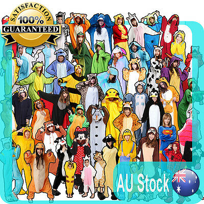 Animal Onsies Kigurumi Hoodie Pyjama jumpsuit Costume Express Post Australia