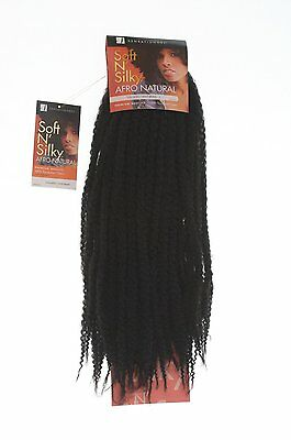 Sensationnel Soft N Silky Afro Kinky Twist Braid -Twists/Kinky Styles - 24inches