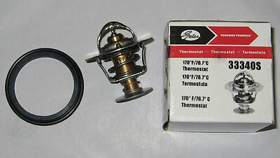 Gates Racing 33340S 170 Degree Thermostat Acura Honda D16 B16 B18 WITH GASKET