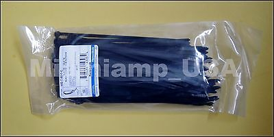 """200 Cable Ties WE-7-50-0-C Thomas & Betts 7 1/2"""" In (2 Bags of 100)"""