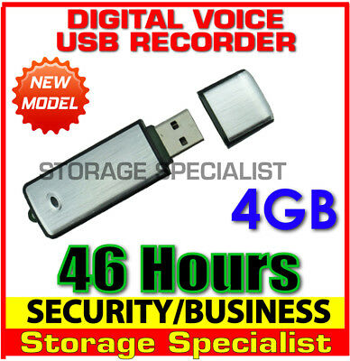 Digital Voice Audio Recorder Mini USB Home Security Flash Drive (No SPY Hidden