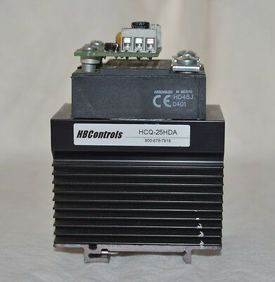 HBC Controls HCQ-25HDA Solid State Relay