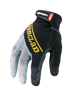 Ironclad Gripworx Glove Silicone-Fused Black  Large  Bgw-04-L