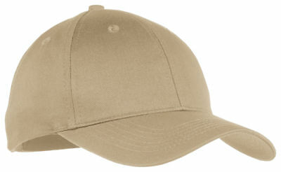Port & Company Youth 6 Panel Mid Profile Cotton Twill Baseball Cap. YCP80