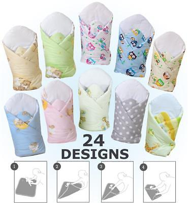 *new* Swaddle Blanket / Newborn Baby Swaddling Wrap Blanket  0 - 3 Mths