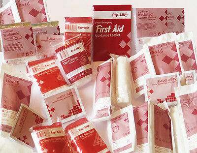 Ezy-Aid 10, 20, 50 Persons HSE First Aid REFILL Kits - Workplace, CATERING, CE