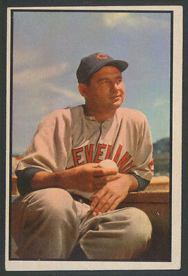 1953 Bowman Color Baseball ~ #146 ~ Early Wynn ~ Cleveland Indians