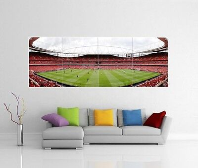 Arsenal Fc Emirates Stadium Afc Giant Wall Art Print Picture Photo Poster J41