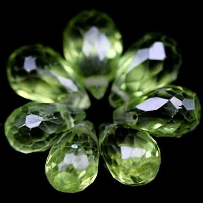 12.18 CT PERIDOT NAT  LOT 10 PS   VVS/SI1  pierres précieuses fines gems 13962