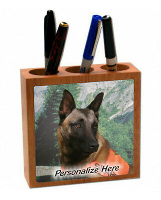 Belgian  Malinois  Personalized  Pencil and Pen Holder
