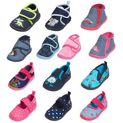 Playshoes Baby Kinder Hausschuhe Pantoffeln viele Modelle