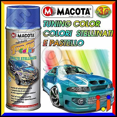 MACOTA Tuning Vernice Spray Stellinata e Pastello 400ml Smalto Acrilico NON COLA