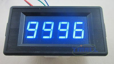 4 Digit Red LED Counter Panel Meter DC 6-15V Up and Down Totalizer
