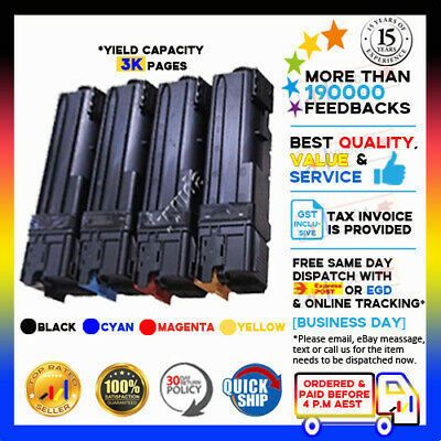 4x Compatible Toner Fuji Xerox DocuPrint CP305D CM305DF DPCP305D CP305 Printer