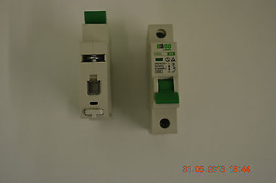 Nano electric single and double pole MCB's Type B  6A,10A,16A,20A,32A. MCB,FUSE.