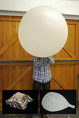 High Altitude Weather Balloons, foil sealed & Parachutes 200g - 600g - 1200g