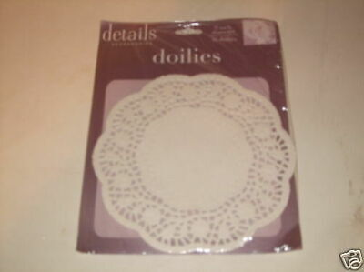 """4.5"""" Doilies Round White Paper Lace Lot 90 Small Doyles Doiley Cupcake Cards U.s"""