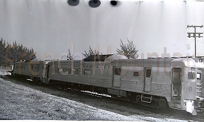 Original Negative Photo Occidentales Passenger Cars Railroad 2 of 2 143