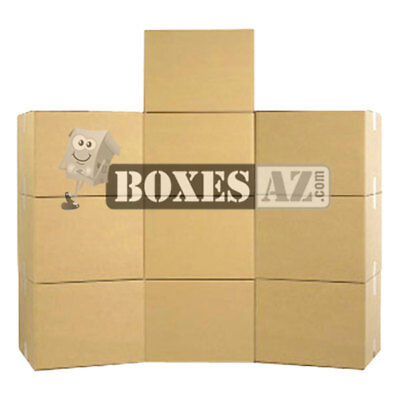 "Moving Boxes - X-Large Moving Boxes 23x23x16"" (10) - Delivered FREE 1-3 Days"