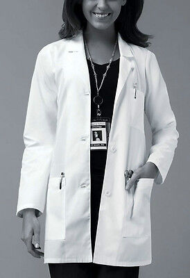 """Dickies 32"""" White Lab Coat Style 84400 (All Sizes)"""