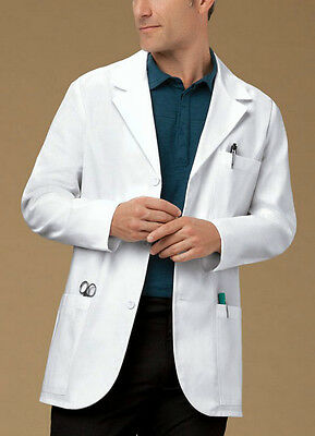 "Med Man by Cherokee  31"" Men's Consultation Lab Coat  Style 1389 (All Sizes)"
