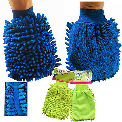 GLOVE Microfibre Mitt Cleaning Mitten Car Polish Washing Microfiber Cleaner Dust