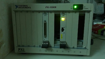 NATIONAL INSTRUMENTS NI PXI-1000B /  8-slot 3U PXI Chassis