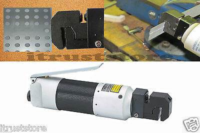 Pneumatic Auto Body Air Punch & Crimper Crimp Crimping Flange Flanger Tool Pipe