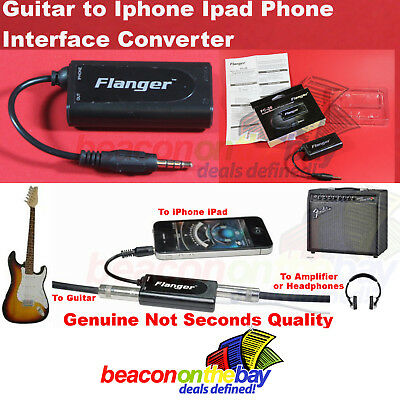 Guitar/Bass to Iphone Ipad Itouch Effects Interface Converter Flanger FC-20