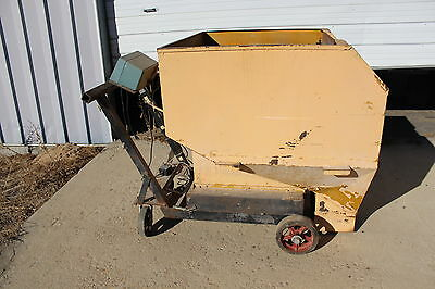 Kelly Duplex Weigh Buggy Dumper Hopper Cart Scale 500 lbs size 25