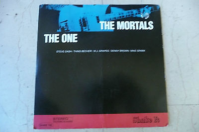 "THE MORTALS""THE ONE-disco 45 giri SHAKE Usa 1993 VERY RARE"""