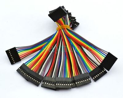 10pcs 8pin 10cm 2.54mm Female to Female Jumper Wire Dupont Cable for Arduino