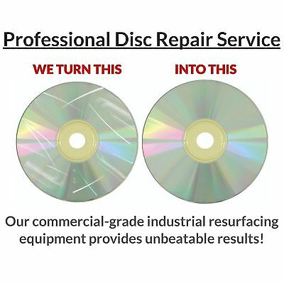 3 Game Disc Repair Service Scratch Removal Resurface Damage PlayStation PS 1 2 3